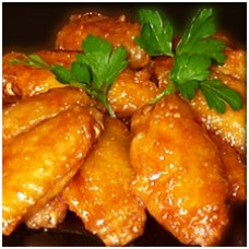 Deep Fried Chicken Wings (10)